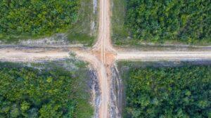 road, cross, crossroad